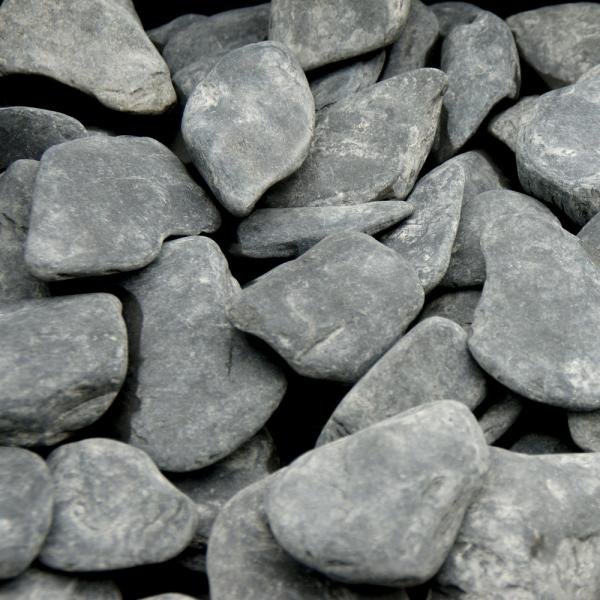 Flat pebbles zwart 15303060 in big bag ca 07 m