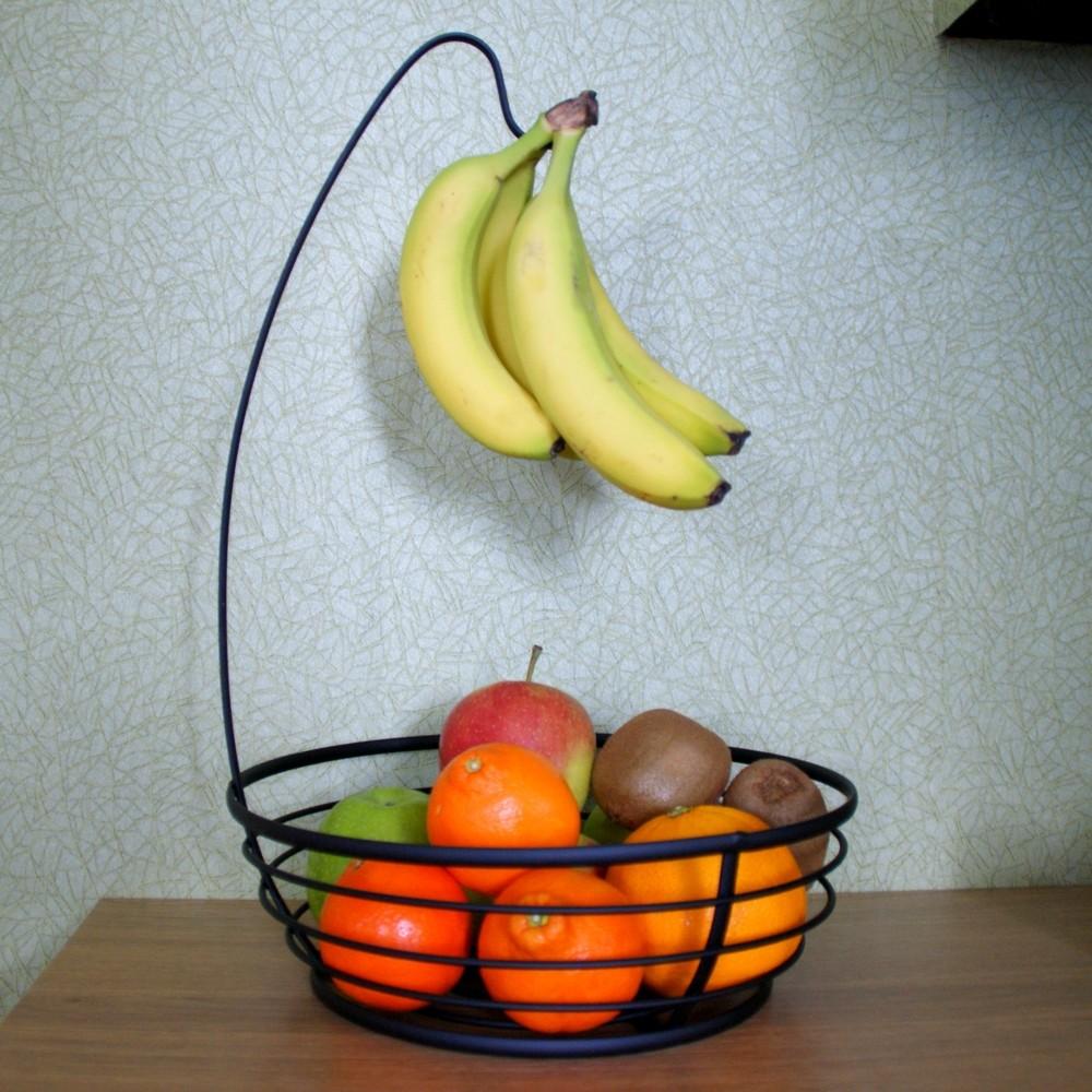 Fruitschaal met bananenhaak