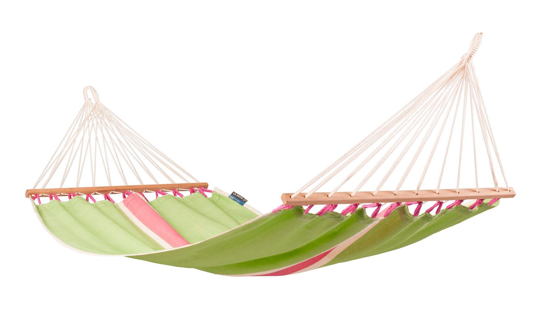Eenpersoons spreidstok hangmat outdoor Fruta Kiwi