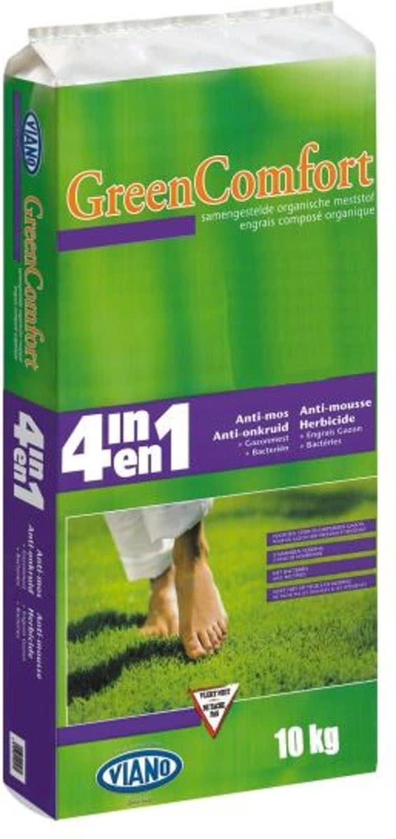 Gazonmeststof 4 in 1 met antimosonkruidwerking met bacterin en magnesium