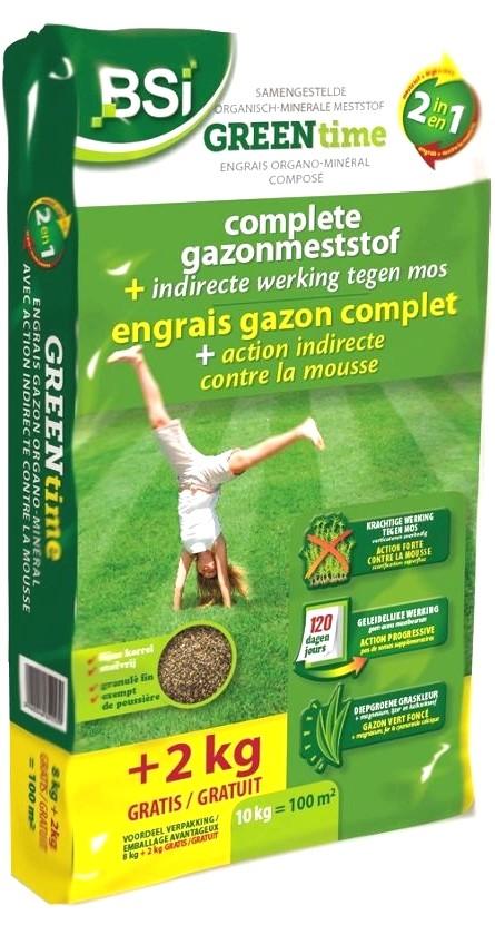 Complete gazonmeststofgreentime 10 kg