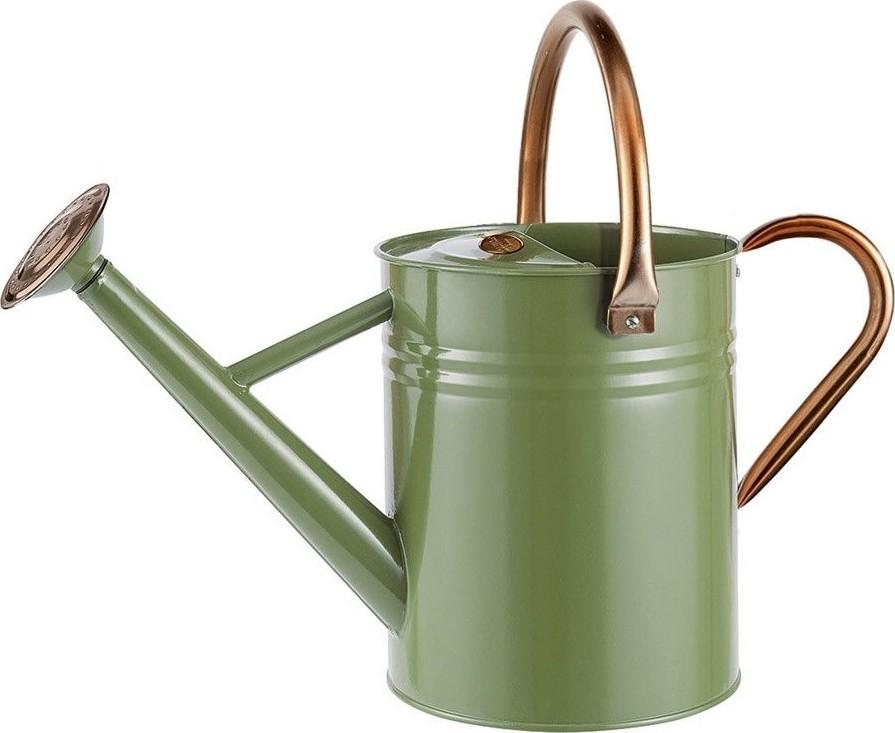 Gieter olijfgroen 45 L metaal