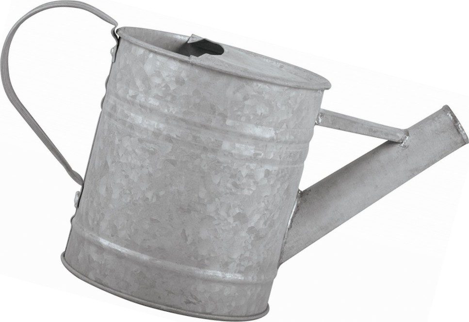 Gieter zink voor binnenshuis075 liter