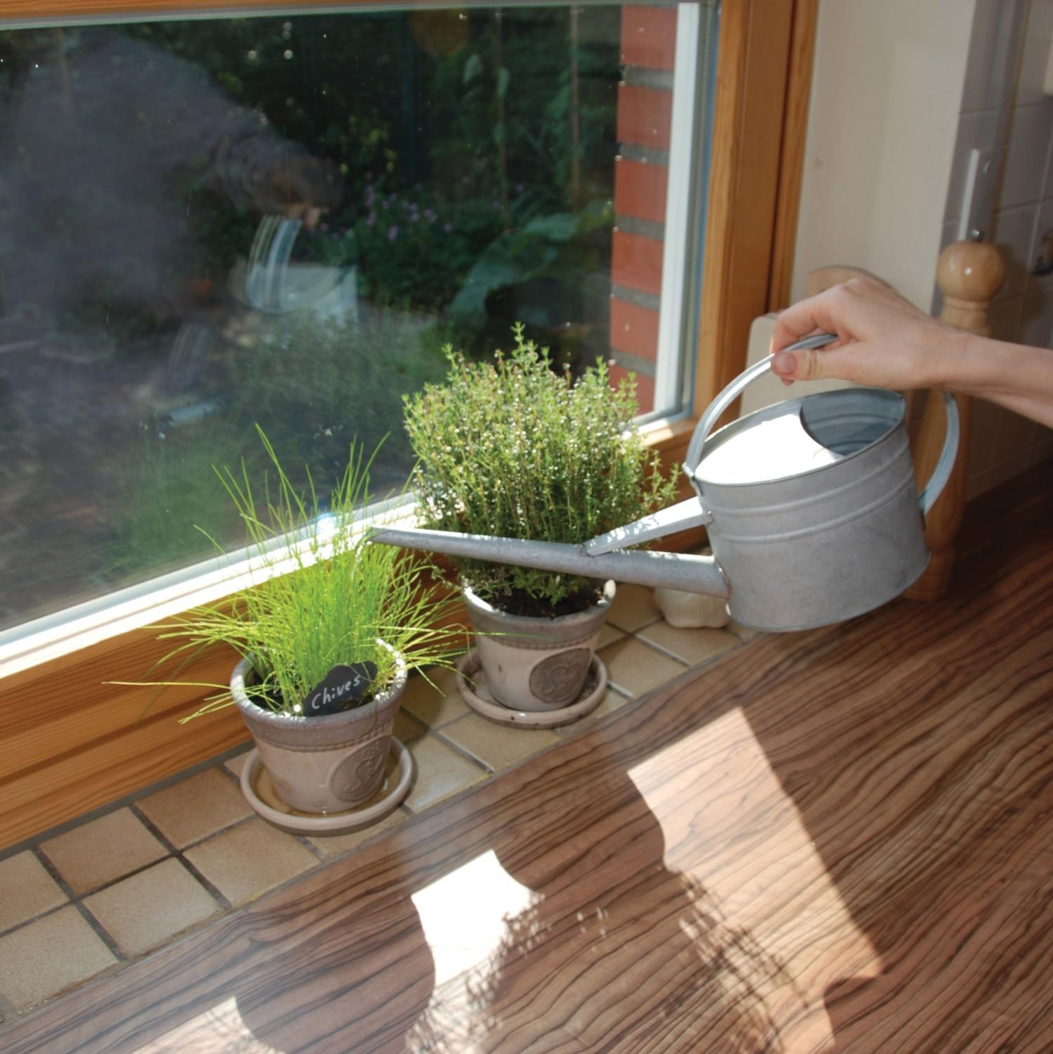 Gieter zink voor binnenshuis 16 liter