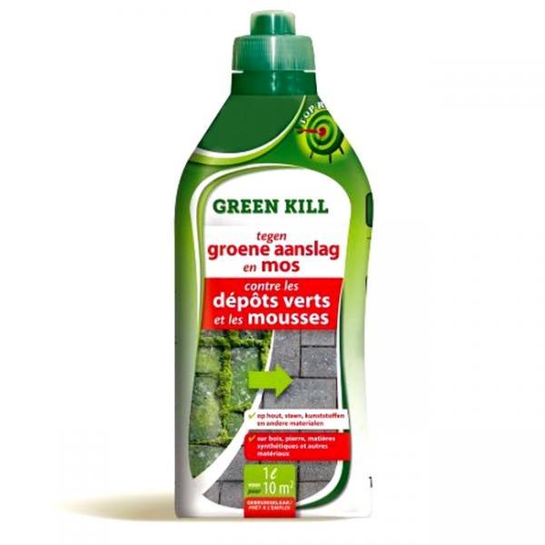 Green kill tegen korstmos mos en groene aanslag 1 L