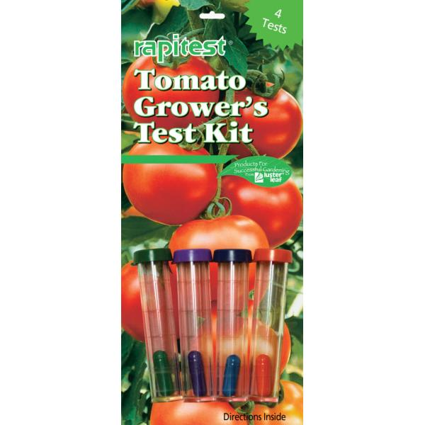 Grondtestkit voor tomatenteelt