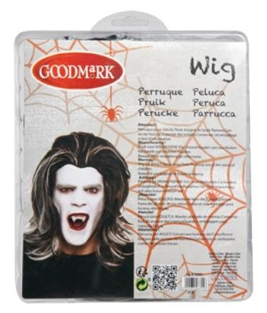 Halloween Pruik Dracula