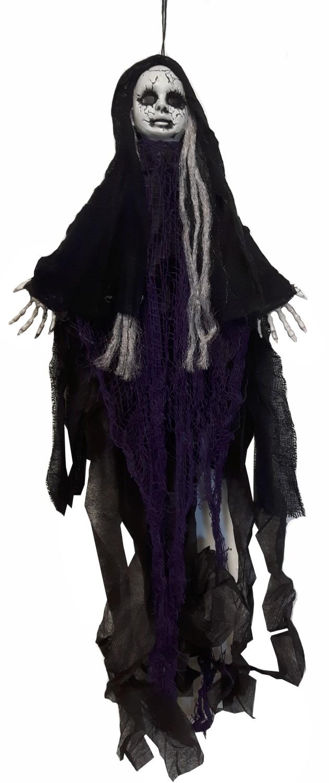 Halloween skelet pop hangend