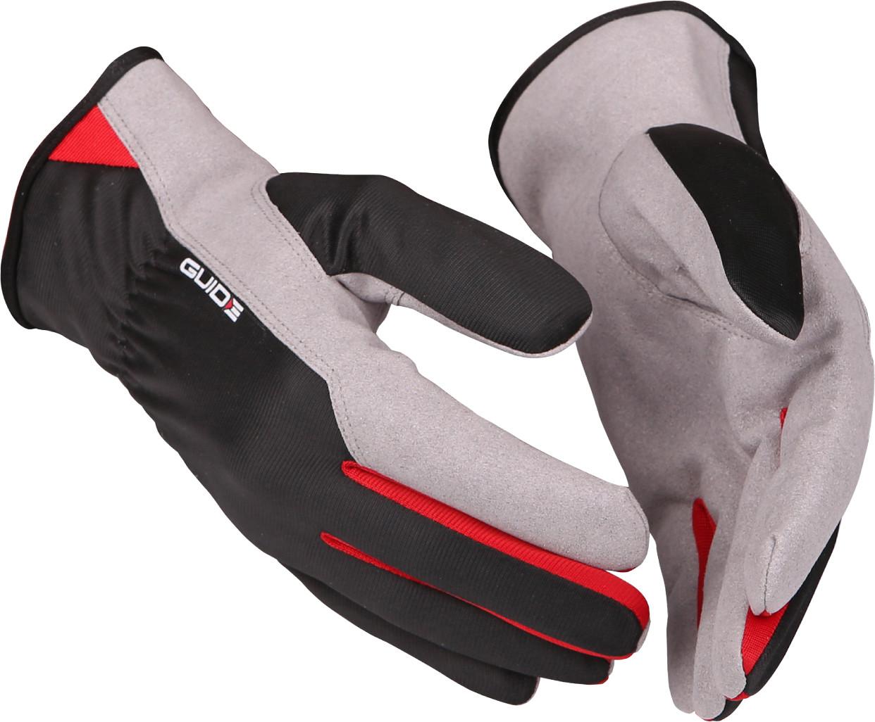 Werkhandschoenen synthetisch ledermaat 7