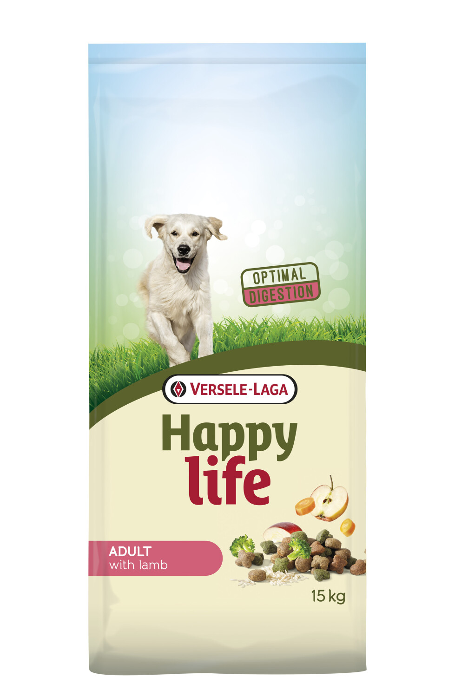 Hondenvoer Happy life ADULT Lam 15 kg