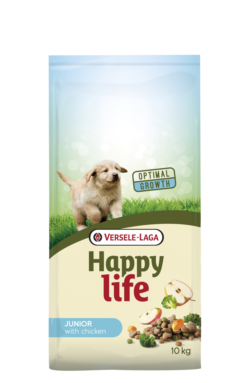 Hondenvoer Happy life JUNIOR Kip 3 kg