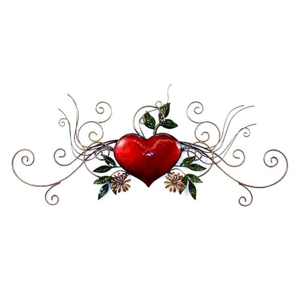 Hart Romantica wanddecoratie