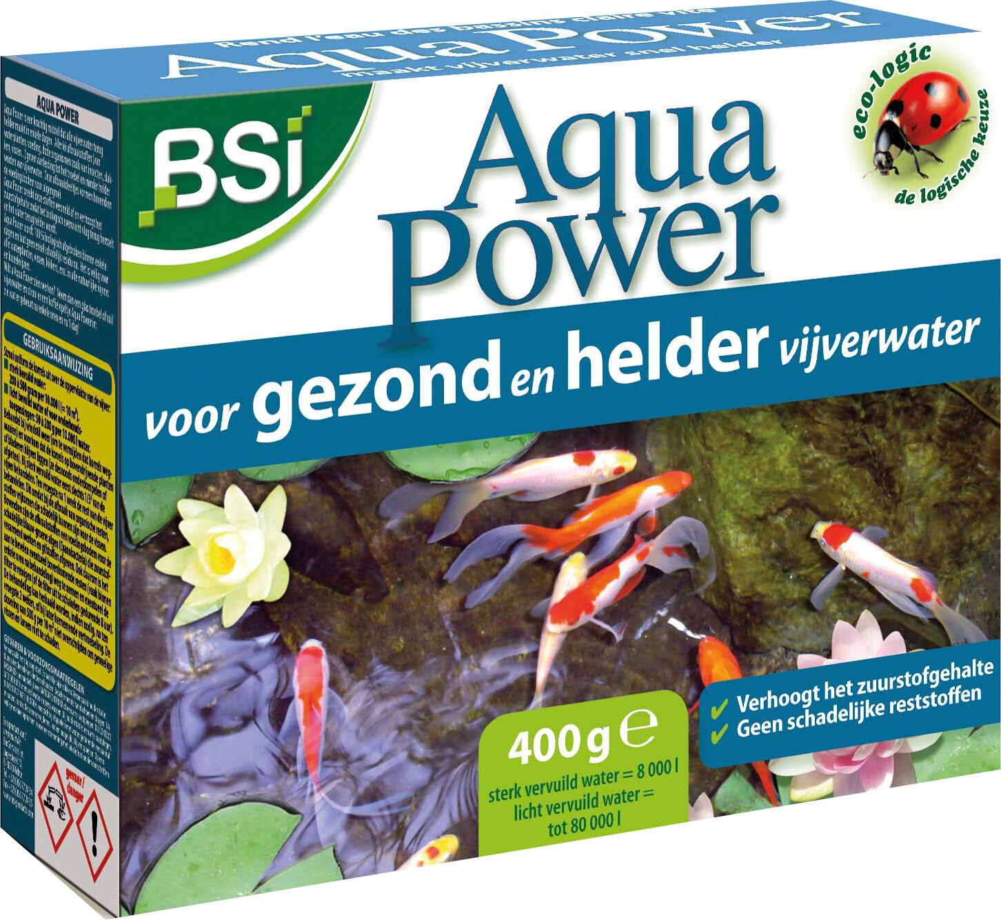 Afbeelding Bsi Aqua Power - Waterverbeteraars - 400 g