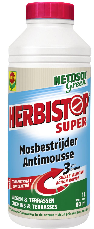 Herbistop supermosbestrijder 80 m2
