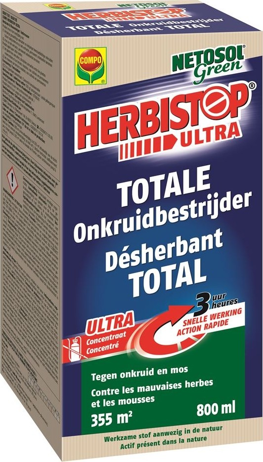 Herbistop Ultratotale onkruidbestrijder 800 ml