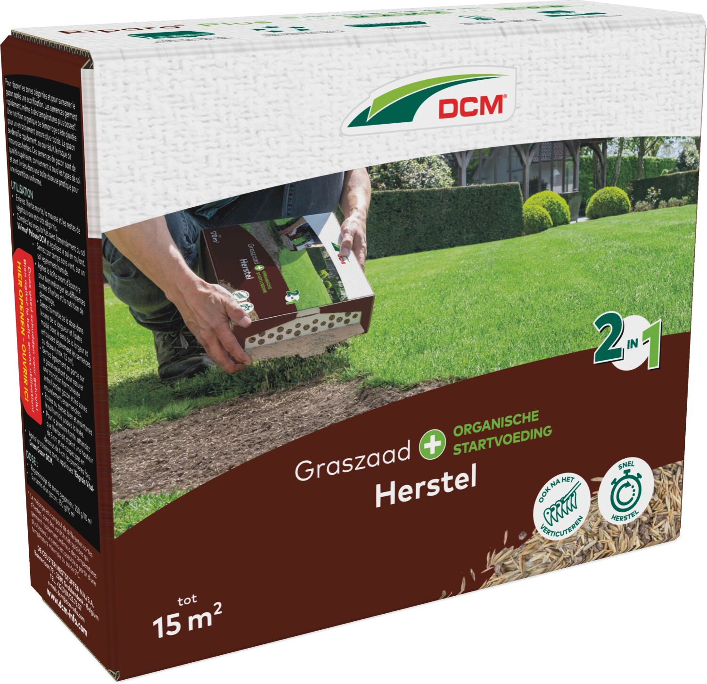DCM Graszaad voor herstel doorzaai RIPARO PLUS organische mest 15 m2