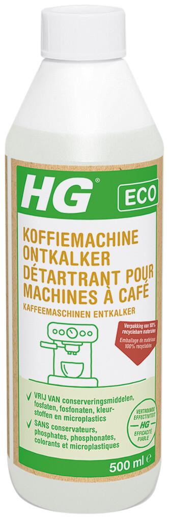 HG ECO koffiemachine ontkalker citroenzuur 500 ml
