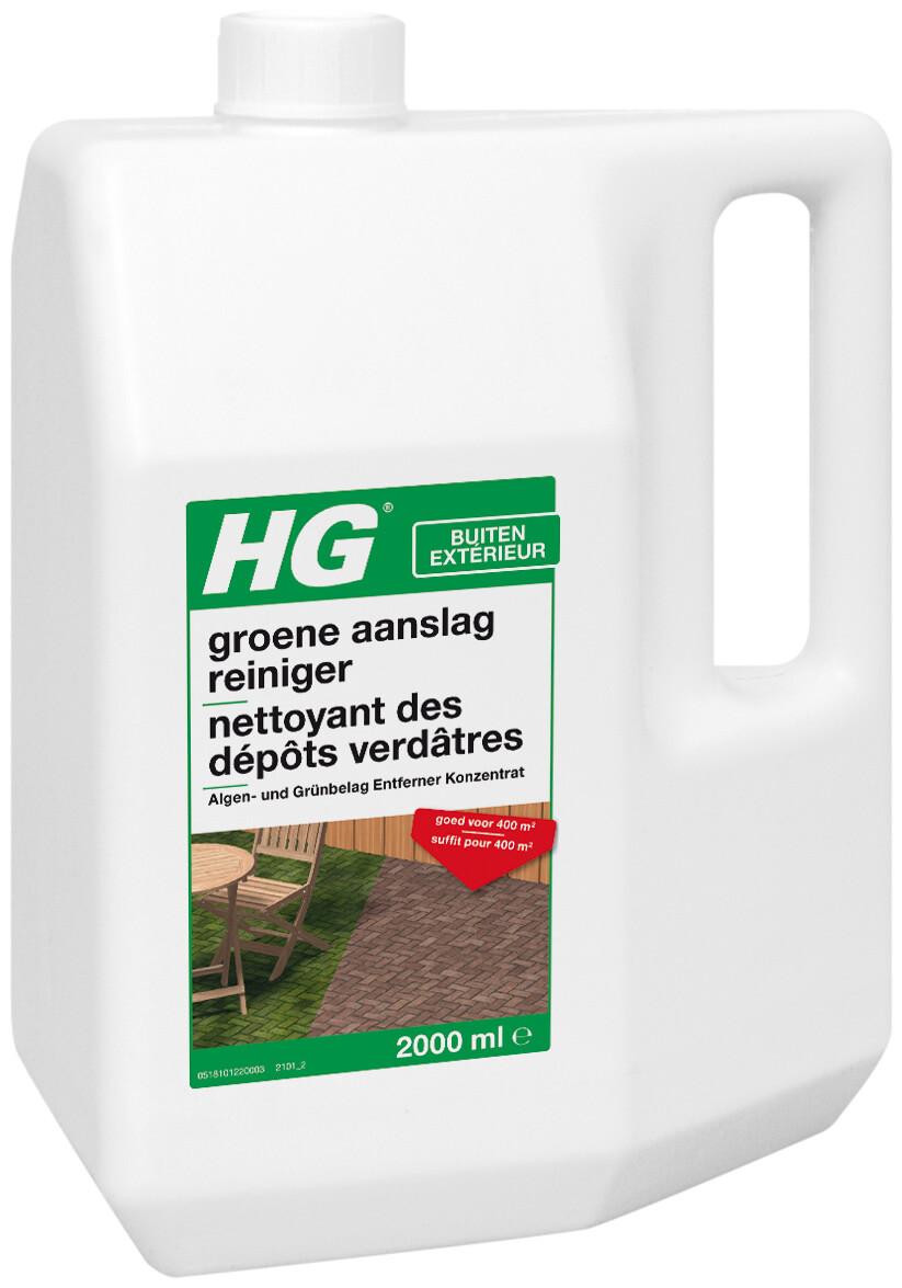 HG groene aanslagreiniger concentraat 2 liter