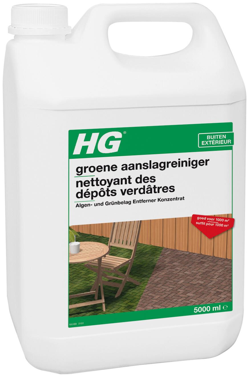 HG groene aanslagreiniger concentraat 5 liter