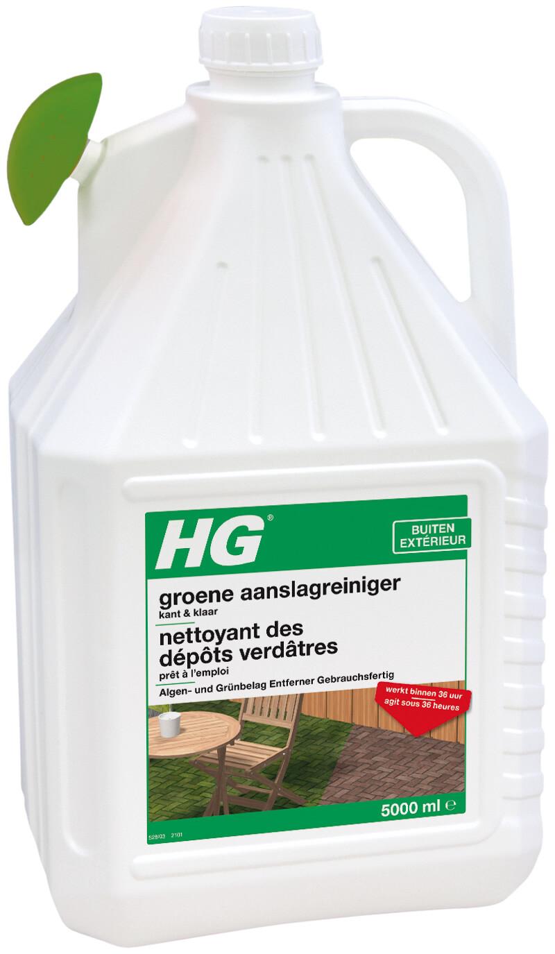 HG groene aanslagreiniger kant klaar 5 liter