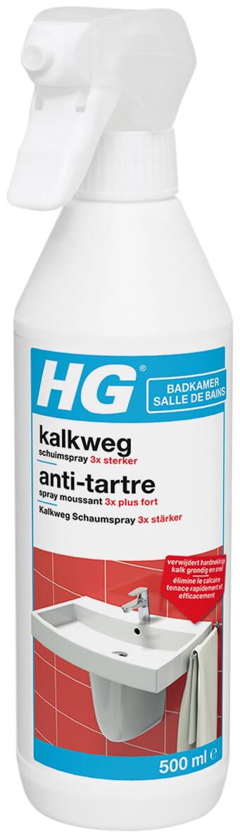 HG kalkweg schuimspray 3x sterker 500 ml