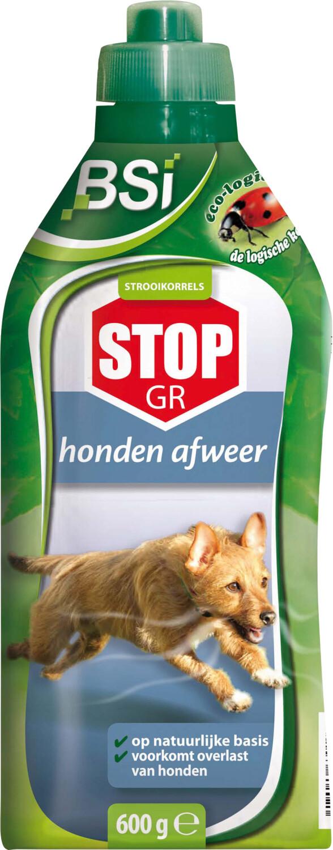 Honden afweer ecologische strooikorrels STOP GR 600 g