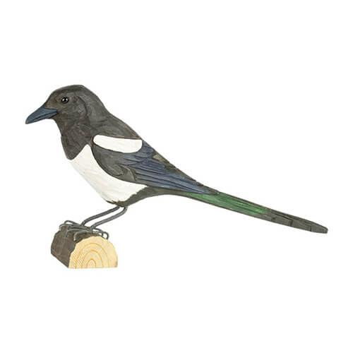 Houten vogelekster