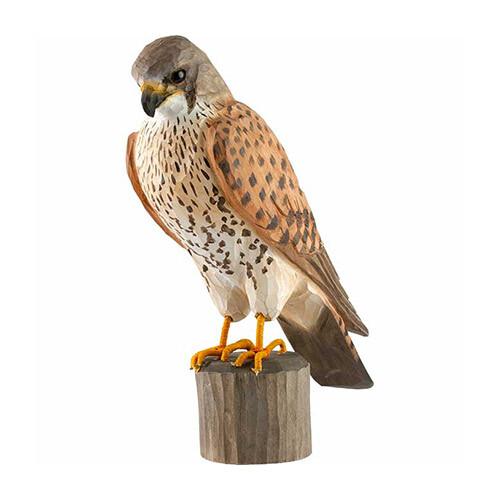 Houten vogel torenvalk