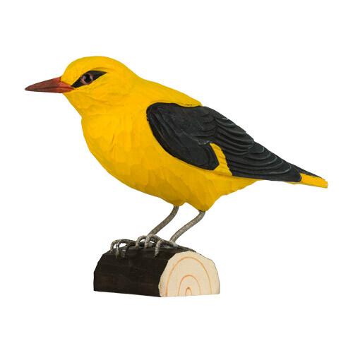 Houten vogel wielewaal