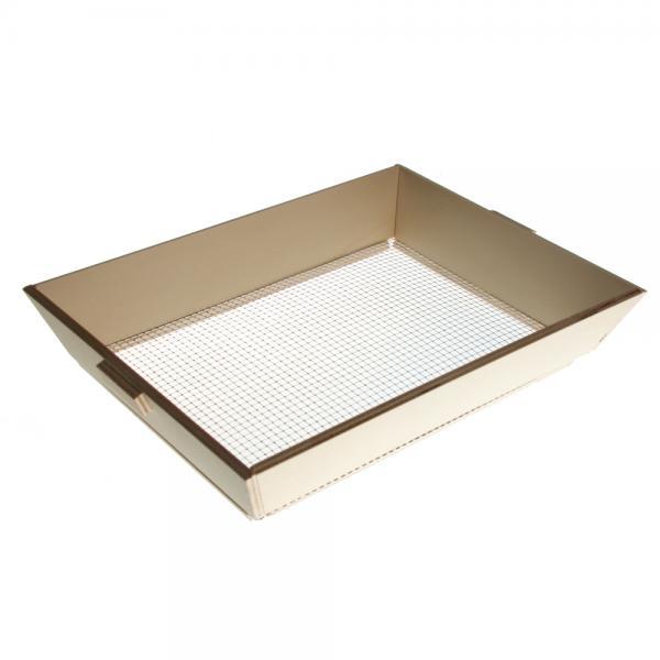 Houten zeef 39 x 28 x 7 cm