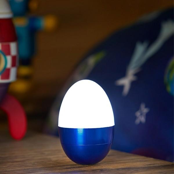 Nachtlamp eivorm touch licht