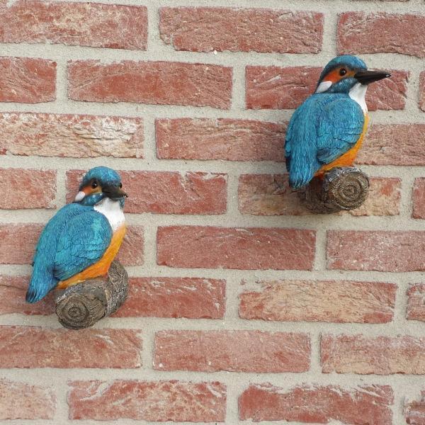 Ijsvogels muurdecoratie