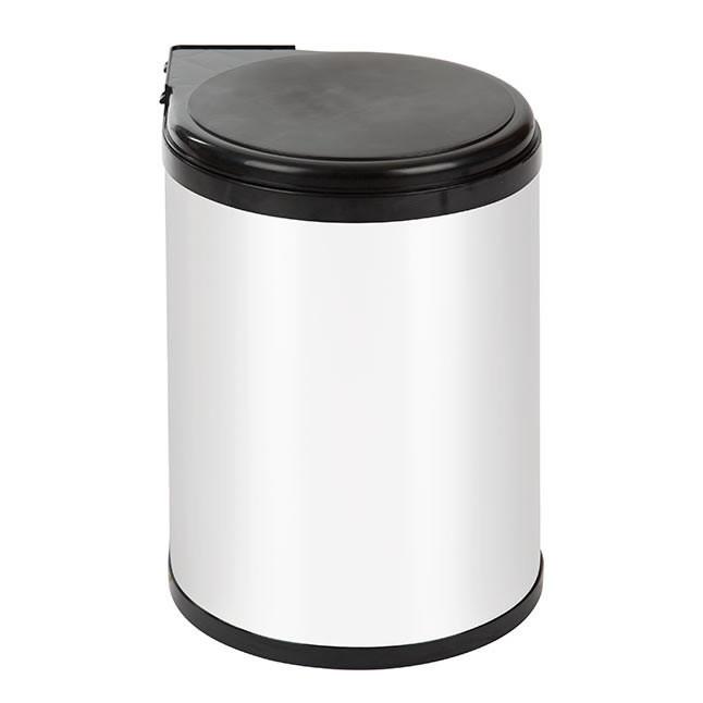 Inbouw afvalemmer wit 14 liter