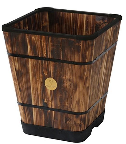 Innovatieve houten plantenbak 50 x 50 cm