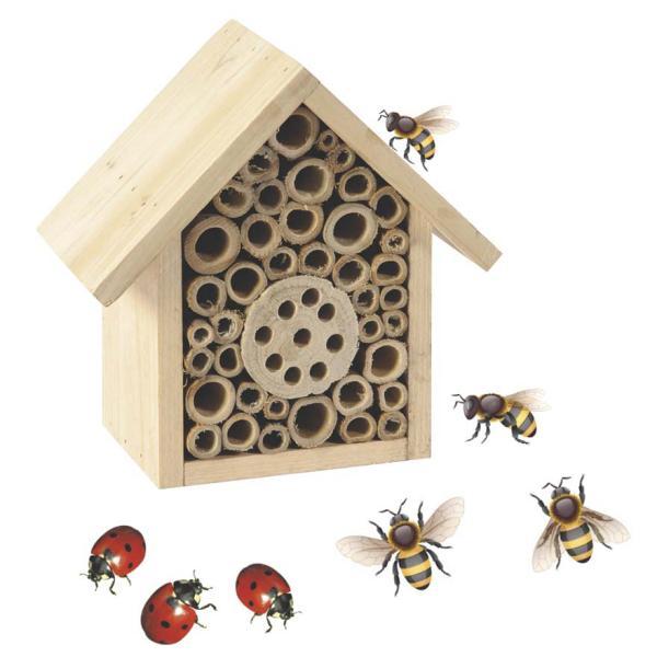 Insectenhuis solitaire bijeninsectenbox