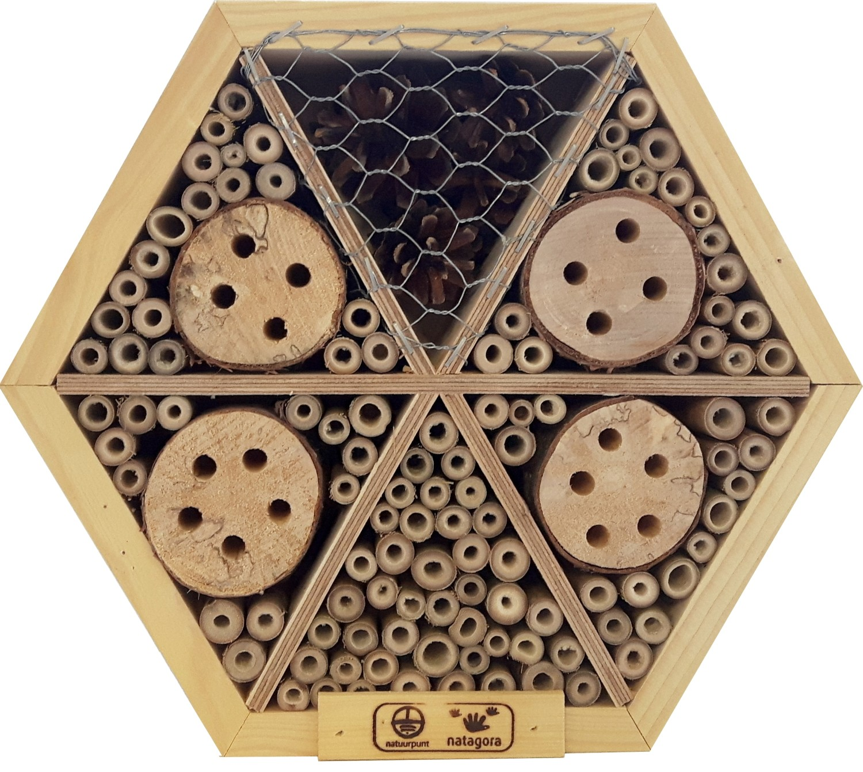 Insectenhotel honingraat medium25 cm