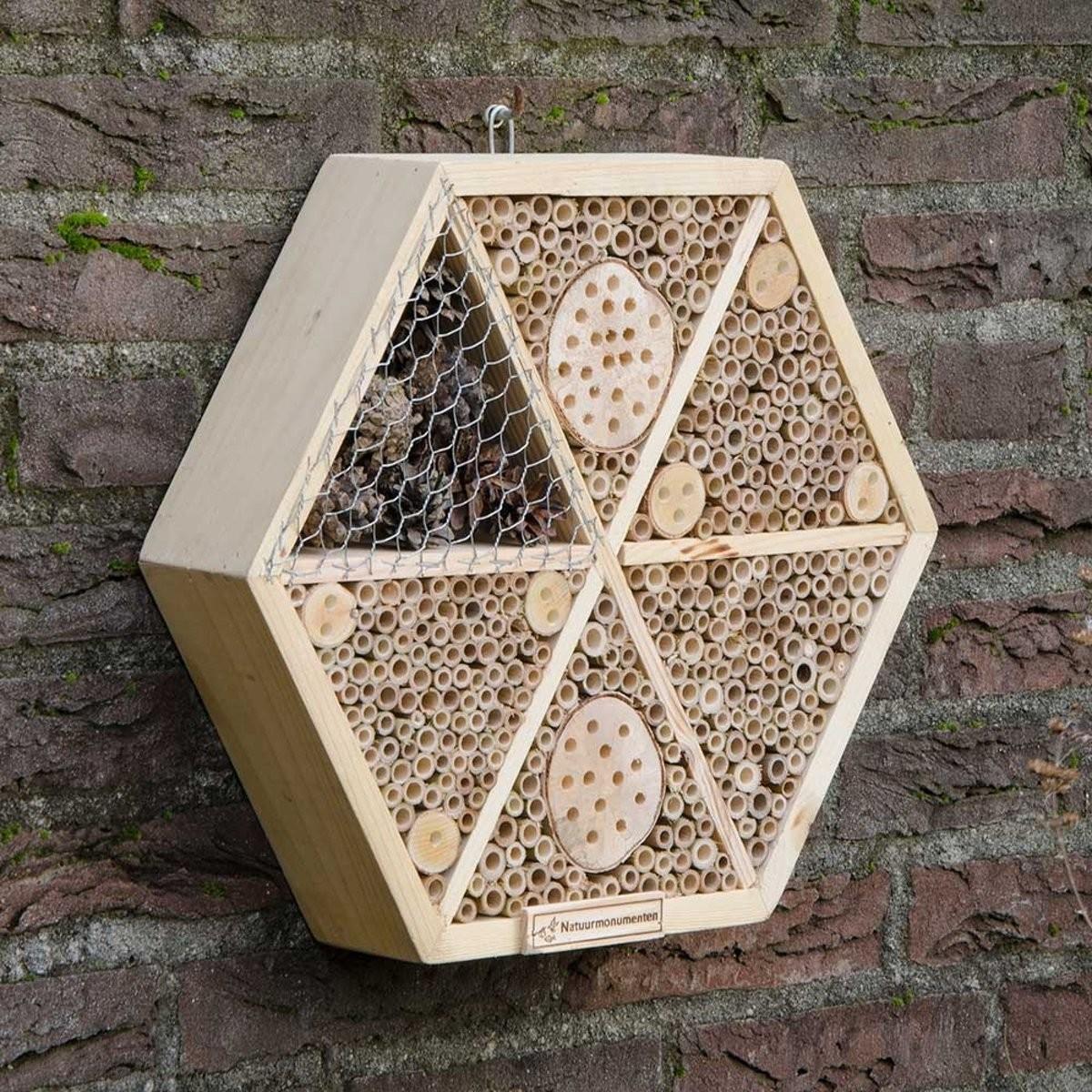 Insectenhotel honingraat maxi34 cm