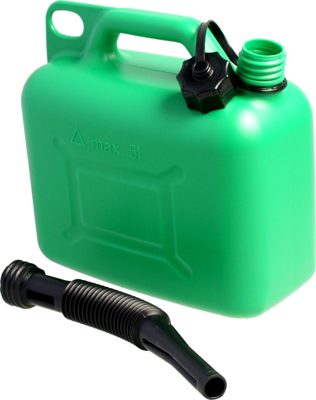 Jerrycan kunststof groen5 liter