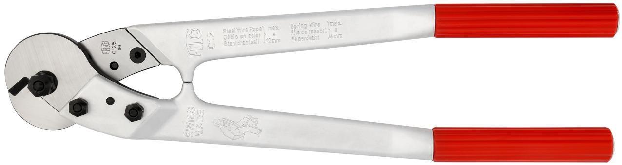 Kabelschaar Felco C12 voor het knippen van zware kabels betonnetten