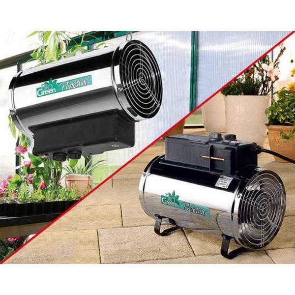 Ventilator en kachel in 1 toestel