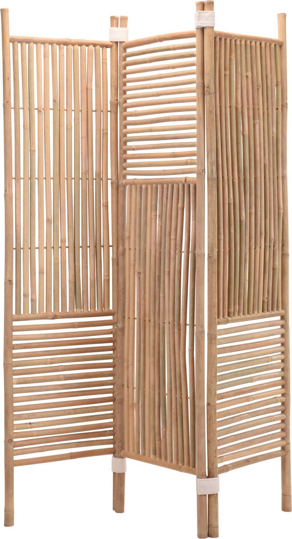 Kamerschermparavent bamboe 130 x 180 cm