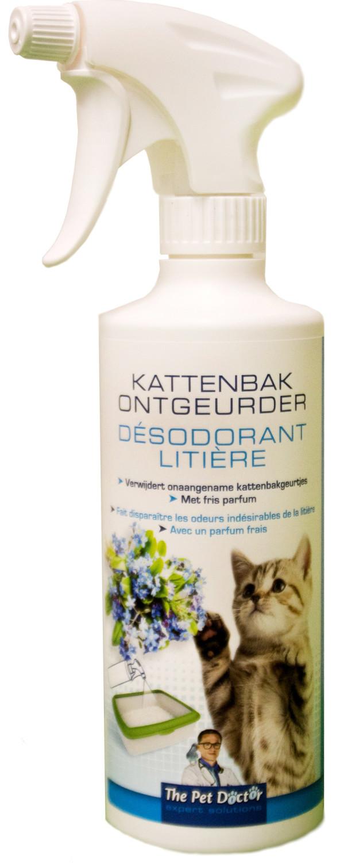 Kattenbak ontgeurder 500 ml