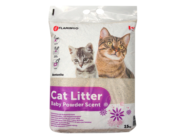 Kattenbakvulling babypoeder 15 kg