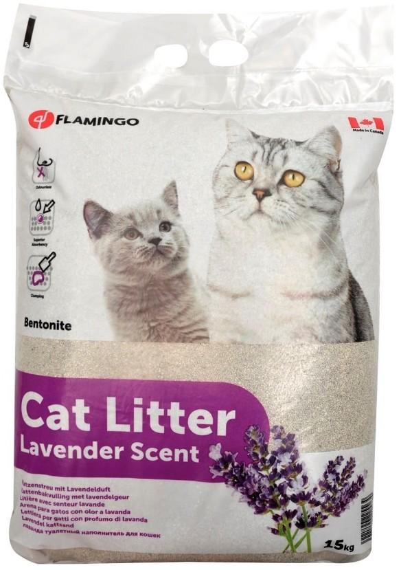 Kattenbakvulling lavendel 15 kg