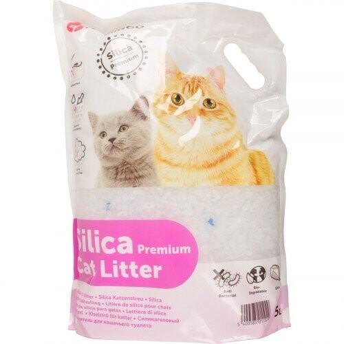 Kattenbakvulling silica premium 5 liter