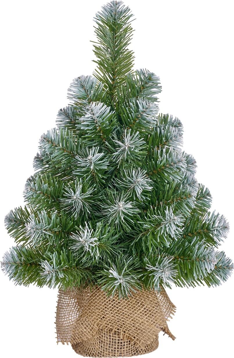 Kerstboom kunststof Norton frosted 45 x 20 cm