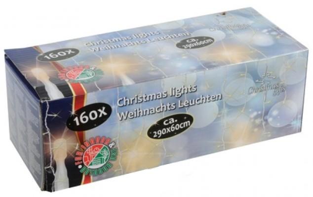 Kerstverlichting ijspegels 160 lampjes