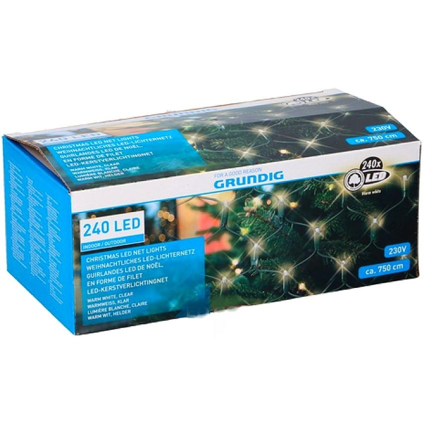 Kerstverlichtingsnet 240 x led netlight