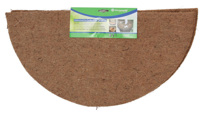 Kokos 2delige afdekring 60 cm