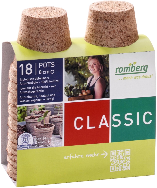 Kokos potjes rond 8 cmbiologisch afbreekbaar en turfvrij